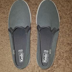 Keds memory foam slip on shoes size 8.5